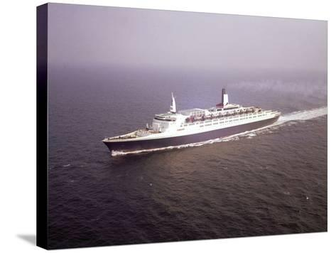 The Qe2--Stretched Canvas Print