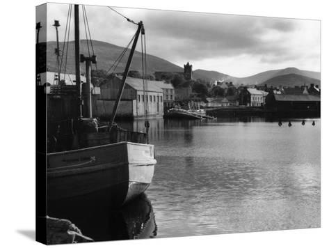 Dingle Harbour--Stretched Canvas Print