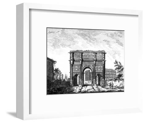 Arch of Constantine, Rome--Framed Art Print