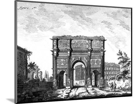 Arch of Constantine, Rome--Mounted Giclee Print