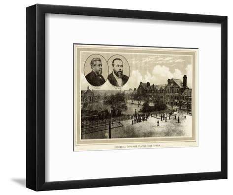 Stockwell Orphanage--Framed Art Print