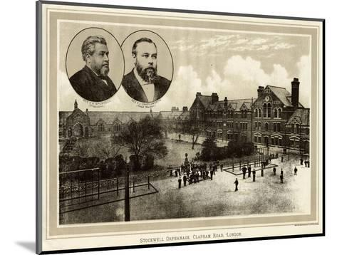 Stockwell Orphanage--Mounted Giclee Print