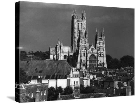 Canterbury Cathedral--Stretched Canvas Print