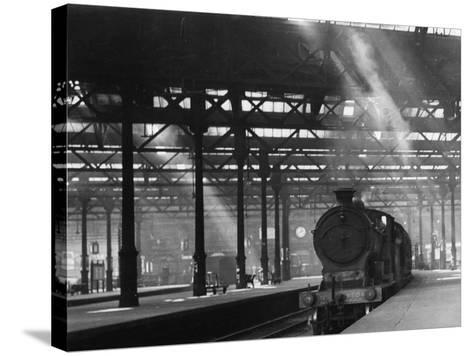 Waverley Steam Train--Stretched Canvas Print