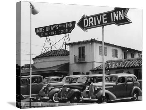 Mrs Gray's Drive Inn--Stretched Canvas Print