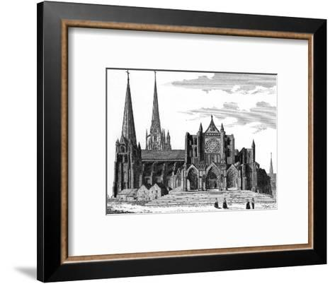 Chartres Cathedral--Framed Art Print