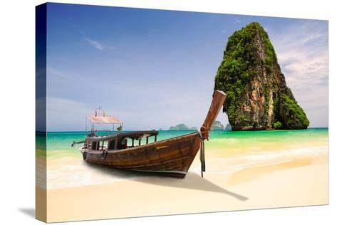 Railay Beach-Patrick Foto-Stretched Canvas Print