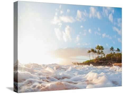 Sunset at Poolenapena-M Swiet Productions-Stretched Canvas Print