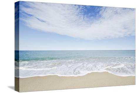 Empty Beach, Nantucket-Nine OK-Stretched Canvas Print