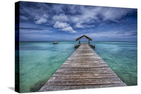Pier to Paradise-Timothy Corbin-Stretched Canvas Print