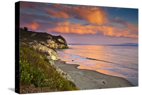 Avila Beach at Sunset-Mimi Ditchie Photography-Stretched Canvas Print