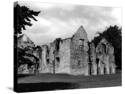 Netley Abbey-Fred Musto-Stretched Canvas Print