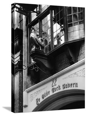 Ye Olde Cock Tavern-Fred Musto-Stretched Canvas Print