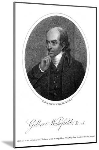 Gilbert Wakefield-Green Green-Mounted Giclee Print