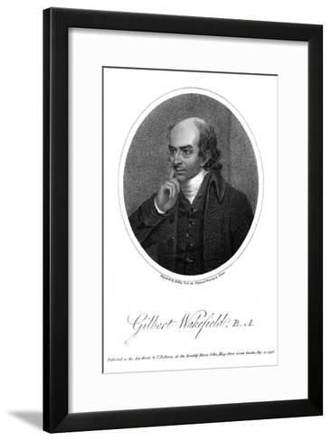 Gilbert Wakefield-Green Green-Framed Art Print