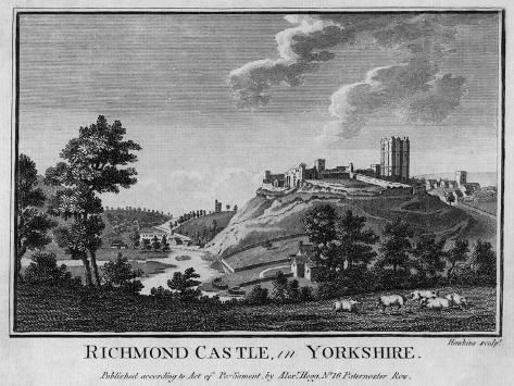 Richmond, Yorkshire--Stretched Canvas Print