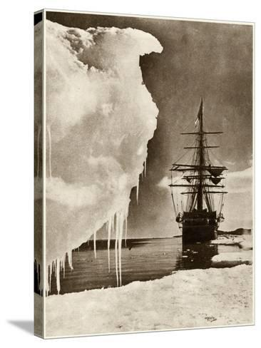 The Terra Nova Expedition-Herbert G Pointing-Stretched Canvas Print