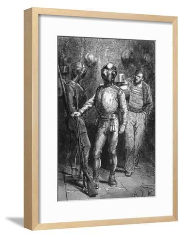 20000 Leagues under the Sea, Jules Verne-Hildebrand Jules Verne-Framed Art Print