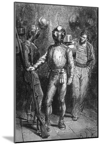 20000 Leagues under the Sea, Jules Verne-Hildebrand Jules Verne-Mounted Giclee Print