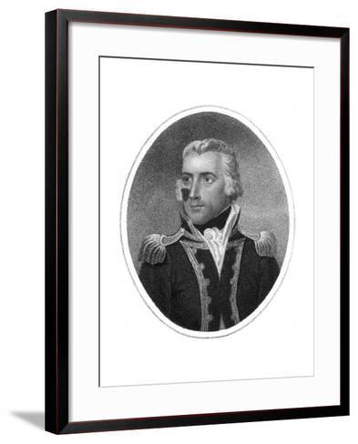 Captain Richard Bowen-HR Cook-Framed Art Print