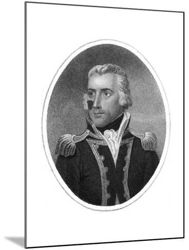 Captain Richard Bowen-HR Cook-Mounted Giclee Print
