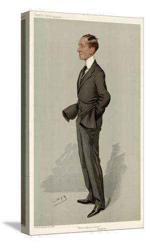 Guglielmo Marconi-Leslie Ward-Stretched Canvas Print
