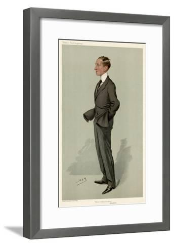 Guglielmo Marconi-Leslie Ward-Framed Art Print