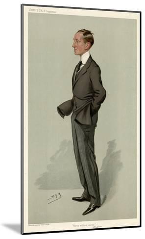 Guglielmo Marconi-Leslie Ward-Mounted Giclee Print