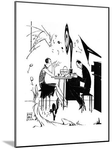 Jazz Music While You Dine, 1929-Joyce Mercer-Mounted Giclee Print