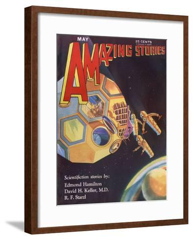 The Universe Wreckers-Leo Morey-Framed Art Print