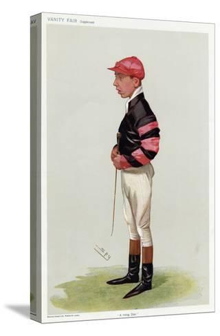 Jockey, WT Templeman VF-Leslie Ward-Stretched Canvas Print