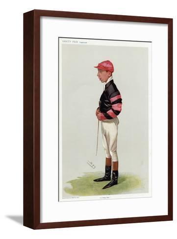 Jockey, WT Templeman VF-Leslie Ward-Framed Art Print