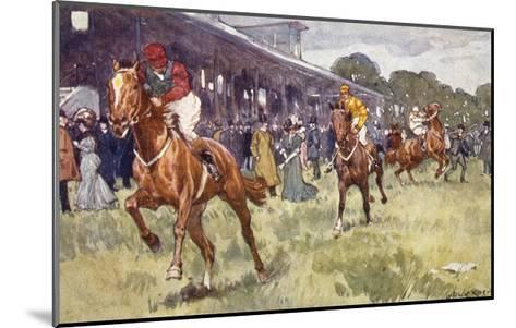 Horse Race, Ludwic Koch-Ludwic Koch-Mounted Giclee Print