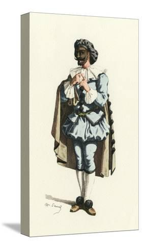 Fren. Theatre, Marc-Aurel-Maurice Sand-Stretched Canvas Print