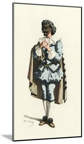 Fren. Theatre, Marc-Aurel-Maurice Sand-Mounted Giclee Print