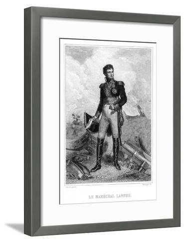 Jean Lannes in Action--Framed Art Print