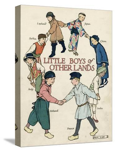 Little Boys of Other Lands in their Native Costumes-Ruth Cobb-Stretched Canvas Print