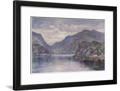 Snowdon Llanberis Lake-Robert Fowler-Framed Art Print