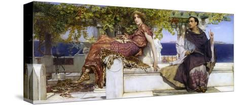 The Conversion of Paula-Sir Lawrence Alma-Tadema-Stretched Canvas Print