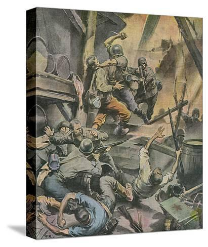 Stalingrad Battle-Rino Ferrari-Stretched Canvas Print
