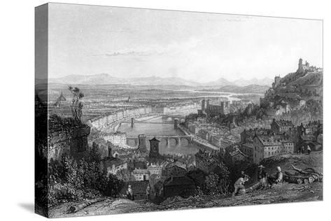 France Lyon-Thomas Allom-Stretched Canvas Print