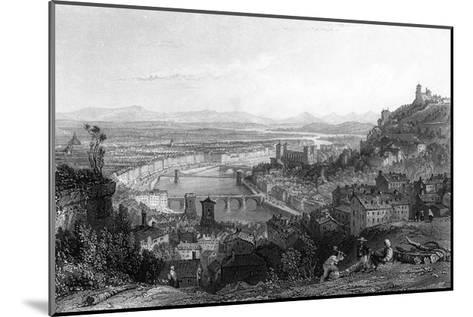 France Lyon-Thomas Allom-Mounted Giclee Print