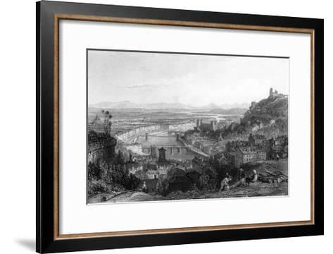 France Lyon-Thomas Allom-Framed Art Print