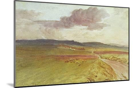 Wessex, Nr Maiden Castle-Walter Tyndale-Mounted Giclee Print