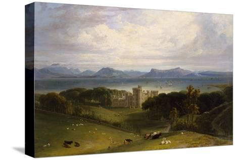 A View of Armadale Castle-William Daniell-Stretched Canvas Print