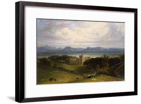 A View of Armadale Castle-William Daniell-Framed Art Print