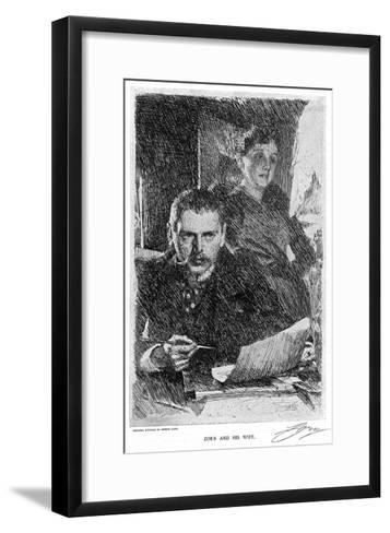Anders Zorn--Framed Art Print