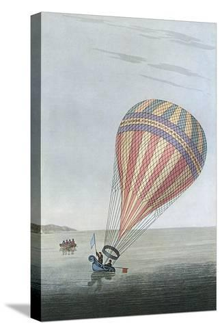 Balloon in Channel 1810--Stretched Canvas Print