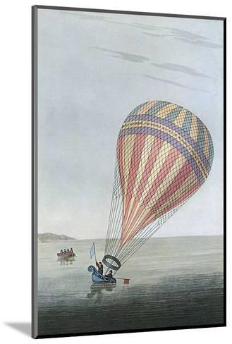 Balloon in Channel 1810--Mounted Giclee Print