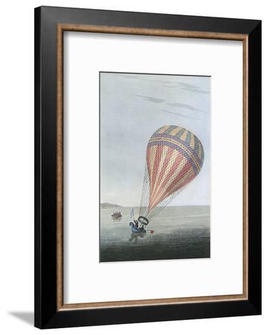 Balloon in Channel 1810--Framed Art Print
